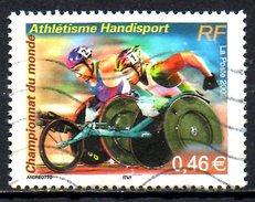 FRANCE. N°3495 De 2002 Oblitéré. Handisport/Athétisme. - Handisport