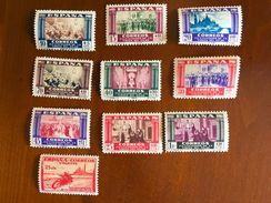 1940 - N° 889-897 + 903 ** Virgen Del Pilar - 1931-Aujourd'hui: II. République - ....Juan Carlos I