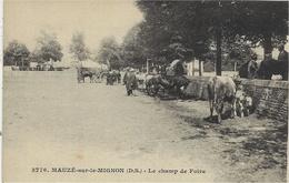 3776- MAUZE Sur Le MIGNON - Le Champ De Foire - Ed. Bergevin - Mauze Sur Le Mignon