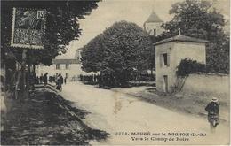 3775- MAUZE Sur Le MIGNON -vers Le Champ De Foire - Ed. Bergevin - Mauze Sur Le Mignon