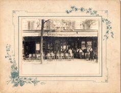 Photo Ancienne - Café G. Sauvegrain - Campo Formio - Berufe