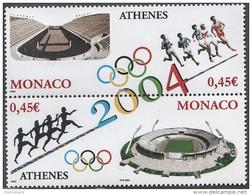 MONACO 2004 - DUO N° 2439 ET 2440 - NEUFS** - Monaco