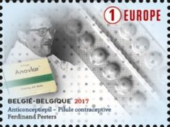 Belgium , Belgique , 2017 , Ferdinand Peeters , Anti-conceptional Pill , Pilule Contraceptive - Medizin