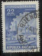 ARGENTINA 1959 1970 1962 INDUSTRY 22p USATO USED OBLITERE' - Argentina