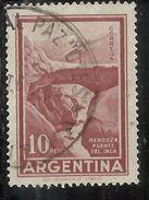 ARGENTINA 1959 1970 1960 INCA BRIDGE MENDOZA 10p USATO USED OBLITERE' - Argentina