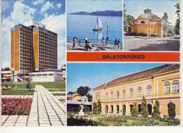 BALATONFÜRED, Plattensee, Multi View,  Nice Stamp - Ungarn
