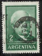 ARGENTINA 1962 1966 DOMINGO F. SARMIENTO 2p USATO USED OBLITERE' - Argentina