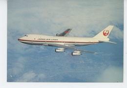 "AVIATION - JAPAN AIR LINES - THE ""GARDEN JET"" B-747 - 1946-....: Moderne"