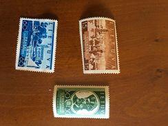 1939 - NEUFS * - YT 373/75 - MI 443/48 - Lituanie