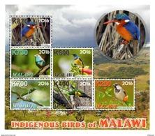 Malawi - 2016 Indigenous Birds Sheetlet (**) - Oiseaux