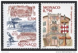 MONACO 2004 - SERIE N°2463 ET 2464 - 2 TP NEUFS** - Monaco