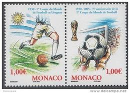 MONACO 2004 - DUO N°2465 ET 2466 - NEUFS** - Monaco
