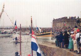 """35 - Saint Malo - Lancement Du Cotre Corsaire """" Le Renard"""" - 18 Mai 1991 - Saint Malo"""