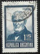 ARGENTINA 1970 1973 1971 GUILLERMO BROWN 1.15p USATO USED OBLITERE' - Argentina