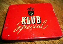 "Zigarettendose Aus Metall ""Klub Special"" - Zigarettenetuis (leer)"
