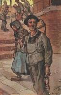 """Raphael Tuck & Sons """"Oilette"""" Serie """"Aus Dem Bergwerk"""" N° 521 - Postales"""
