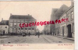 BELGIQUE - POPERINGE- POPERINGHE- ROUSBRUGGE - HOTEL DE VILLE - EDITEUR WULLUS DAVID - Poperinge