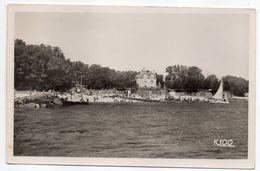 BEG MEIL--1953--La Plage De La Cale à Marée Haute (animée) ...timbre - Cachet FOUESNANT-29---....pas Très Courante - Beg Meil