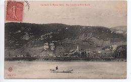 LES BORDS DU RHONE (01 / AIN) - BAC A TRAILLE DE SAINT SORLIN - France