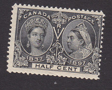 Canada, Scott #50, Mint Hinged, Queen Victoria, Issued 1897 - Unused Stamps