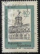 ARGENTINA 1977 1981 Historic City Hall, SALTA 40p USATO USED OBLITERE' - Argentina