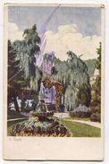 BLED, Blejski Grad  - SLOVENIA, V. SIPEK Pinx, Art Postcard, 1921. - Slowenien