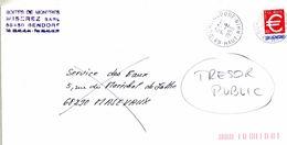 Lettre Cachet Durlinsdorf - Marcophilie (Lettres)