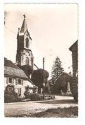 CPA 90 FESCHE L' EGLISE Eglise Catholique & Monument Aux Morts - France