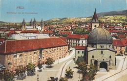 Pecs (Hongrie) - Széchényl Ter és Gymnazium - Hungary