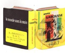 Calendrier Livre Petit Format - Petit Larousse 1967 - 8 Pages - E. Gruneisen - C.D.L. - Paris VI - Je Sème à Tout Vent ! - Calendriers