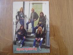 Carte Postale Postcard IRON MAIDEN Musicien MUSIQUE Hard Rock 12 X 17 Cm - Sänger Und Musikanten