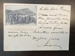 AK  BOLIVIA   PEROVIC PROV. DE JUJUY  CUADRILLAS TRABAJADORAS FESTEJANDO LA INAUGURACION DE LAS OBRAS DEL FERRO CARRIL - Bolivia