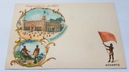 EXPOSITION 1900 ACHANTIS Palais Du Mareorama CPA Postcard Animee - Geschiedenis