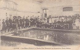 Giens - Les Bains D'hiver à La Piscine Paul Renouard Au Sanatorium Renée Sabran (belle Animation) Réedition En 1900 - Autres Communes