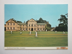 Postcard The Hall And Cricket Match Hovingham My Ref B21769 - Cricket