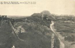 Mariakerke - Ruines De Mariakerke 1914-18 Abris Dans Les Dunes - Oostende