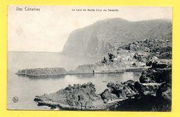 Iles Canaries. La Baie De Santa Cruz De Ténérife. 1908. Nels, Bruxelles - Tenerife