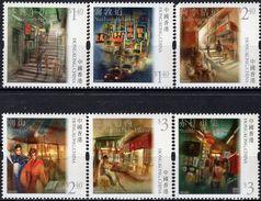 Hong Kong - 2010 - Characteristic Streets In Hong Kong - Mint Stamp Set - 1997-... Región Administrativa Especial De China