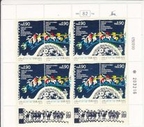 MICHEL 1160-1161 - PETIT BLOC ** - COTE 60 EURO AVEC TABS - Blocs-feuillets