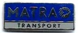 CAMION - C46 - MATRA TRANSPORT - Verso : MADE IN FRANCE - Pin's