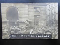 """Strassburg / Strasbourg 11 November 1918 - Revolution """"...les Boches"""" - Guerre 1914-18"""