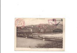 Carte  Exposition Philatelique  Lyon 1931   Avec Vignette Imprimée Sur La Carte Aviation - Airmail