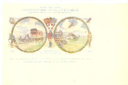 5 Epreuves Carte   Exposition Philatelique Aerienne  Lyon 1931 - Airmail