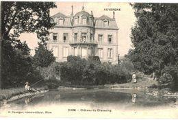 CPA N°5523 - RIOM - CHATEAU DU CHASSAING - Riom