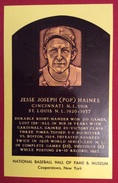 BASEBALL  JESSE JOSEPH (POP) HAINES NATIONAL BASEBALL HALL OF FAME & MUSEUM N.Y.  14 GIOCHI DEI CARAIBI  CUBA 1982 - Baseball