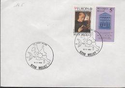 3146  Carta Mellet 1980 Belgica Les Bons Villers - België