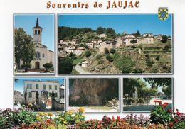 (D)  07  Jaujac  Multivues - Frankreich