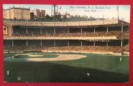 BASEBALL  STADIO  POLO GROUNDS N.L.BASEBALL PARK NEW YORK  PARTITA IN CORSO - Baseball