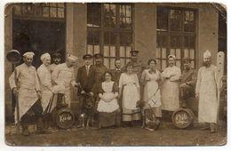 Carte-photo - Camp Militaire De Bitsch ( Bitche ) - Soldats Et Cuisiniers - Guerre 1914-18