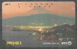 Mont Fuji Au Japon, Telecarte Japon - Mountains